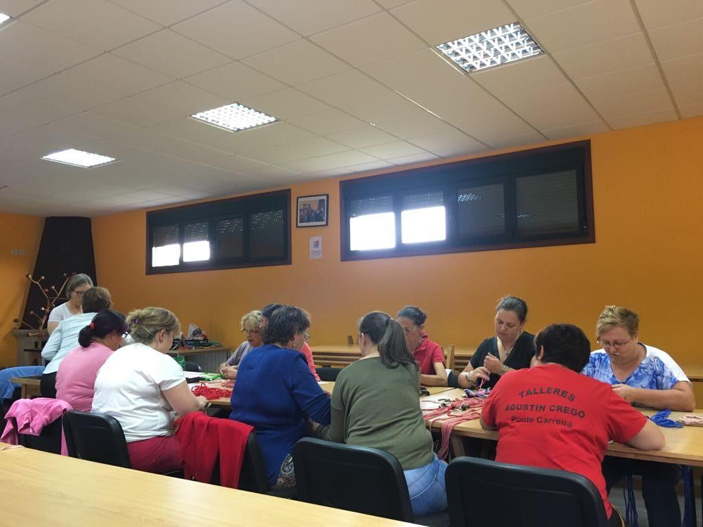 Curso de Macramé en Frades ONG Mestura