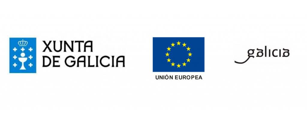logos financiadores union europea xunta de galicia