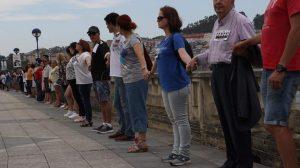 cadena humana culleredo 20 junio