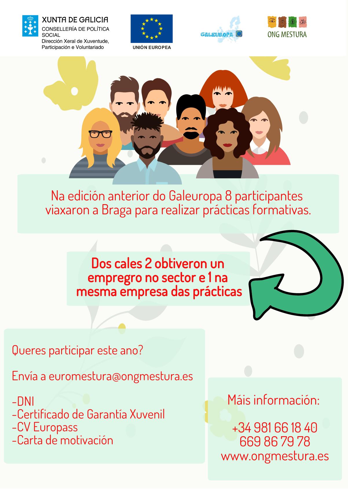 Galeuropa, Programa, ONG Mestura, Lisboa, Practicas, viaje, aventura,