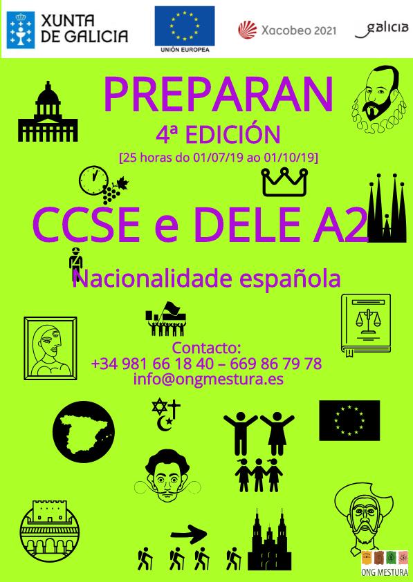 Preparan 4 edicion, ong mestura, nacionaldad, examen