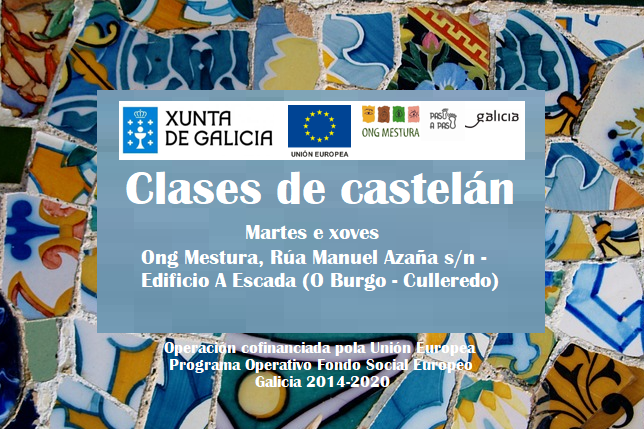 Cartel Clases español