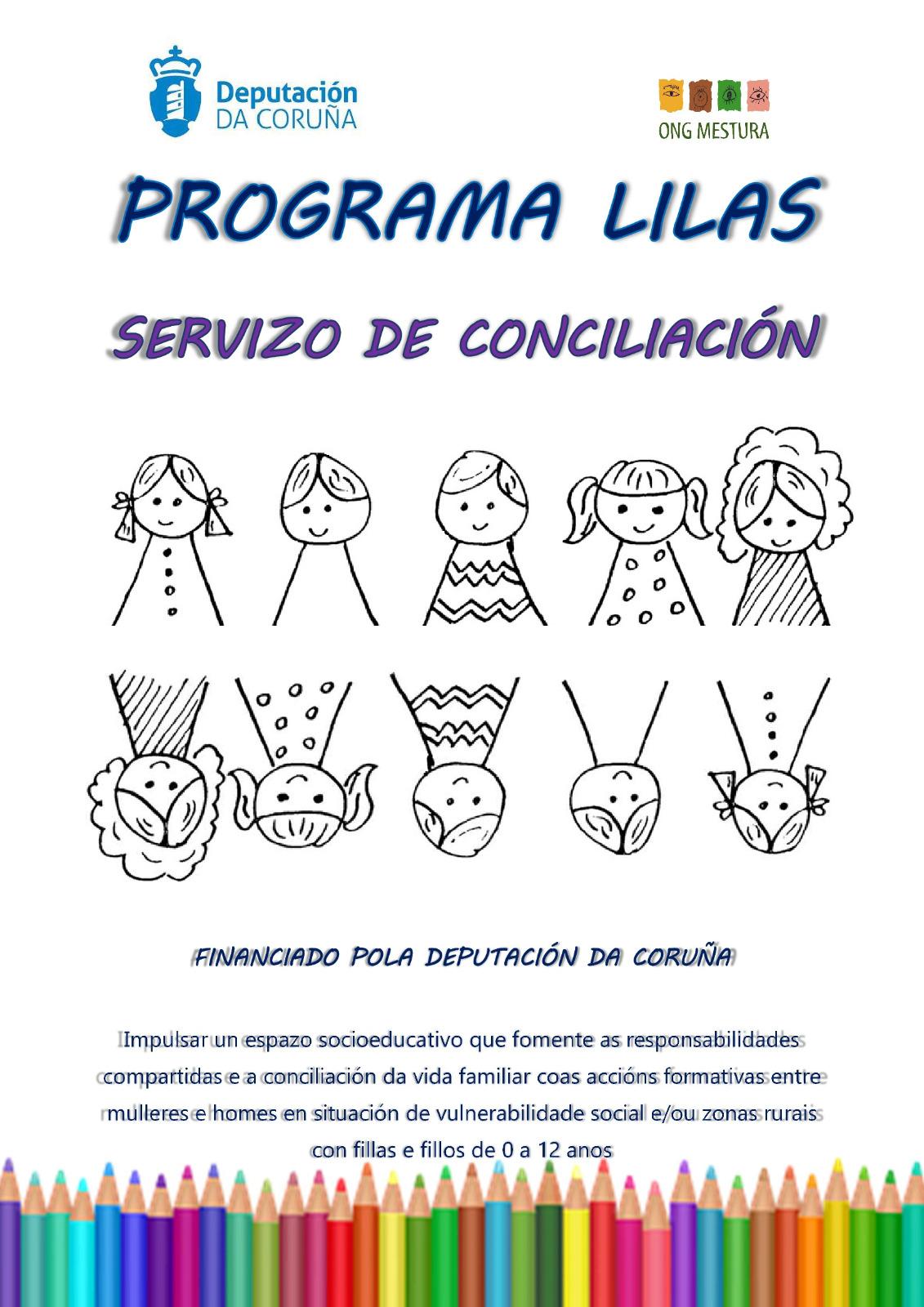 programa lilas, ong mestura, servizo de conciliacion, culleredo