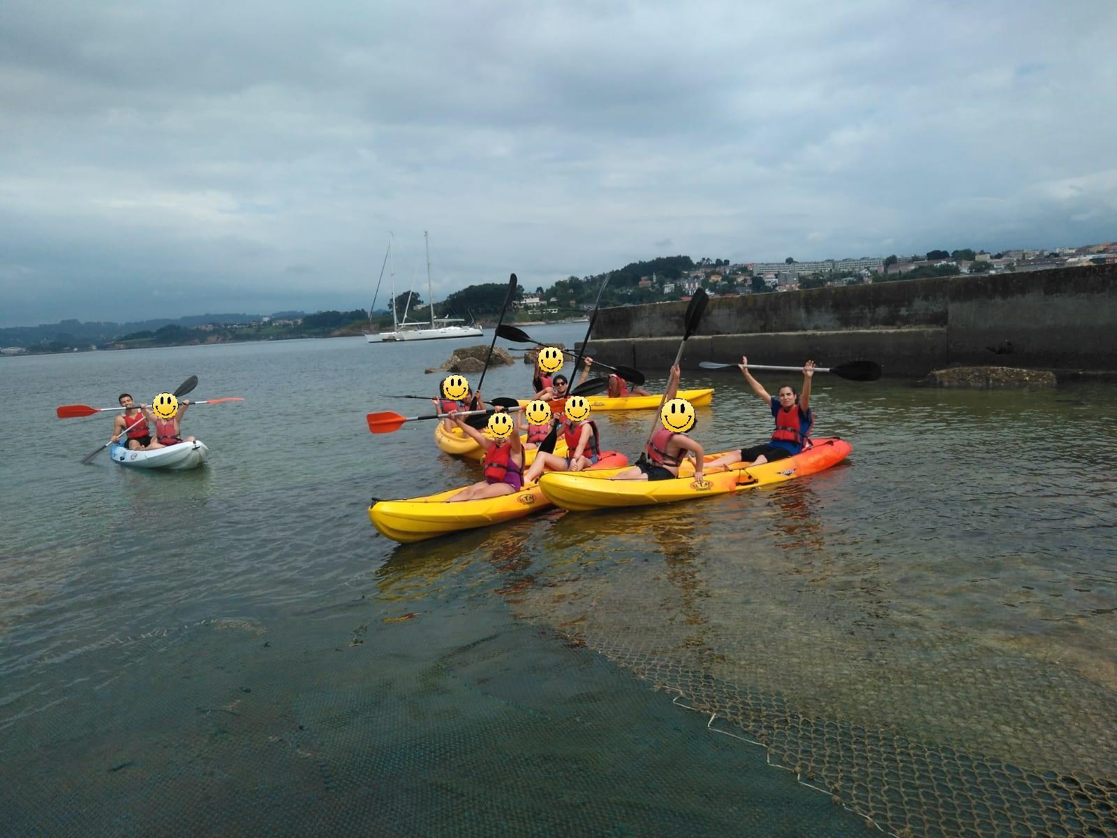 kayak, ong mestura, la caixa, excursion